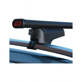 Clop G3 1100 mm + G368900 barres de toit en acier